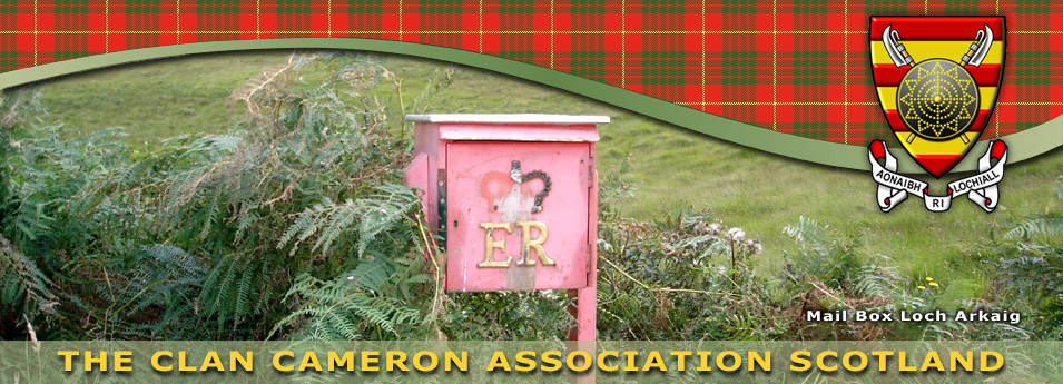 Clan Cameron Contact Details