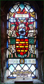 Stained Glass Window in Ciarn's to the 24th Chief